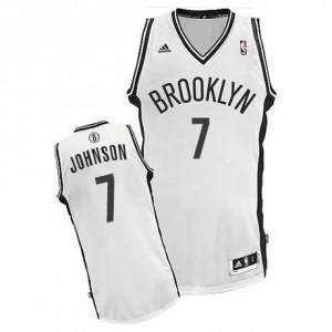 Canotte Rivoluzione 30 Johnson,Brooklyn Nets Bianco