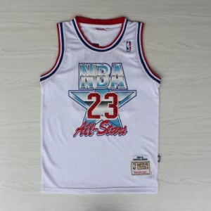 Canotte NBA Jordan,All Star 1992 Bianco