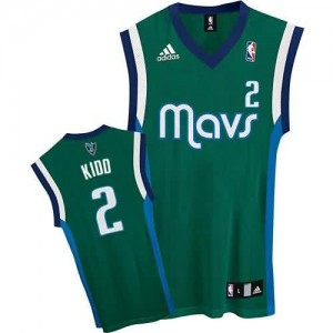 Canotte Kidd,Dallas Mavericks Verde