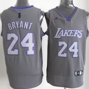 Canotte Rivoluzione 30 Kobe Bryant,Los Angeles Lakers Grigio