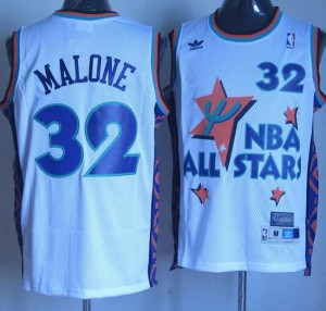 Canotte NBA Malone,All Star 1995 Bianco