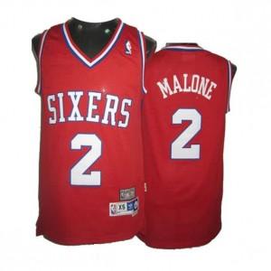 Canotte Malone,Philadelphia 76ers Rosso