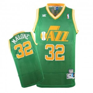Canotte Malone,Utah Jazz Verde