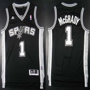 Canotte Mcgrady,San Antonio Spurs Nero