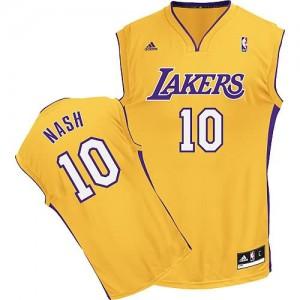 Canotte Rivoluzione 30 Nash,Los Angeles Lakers Giallo