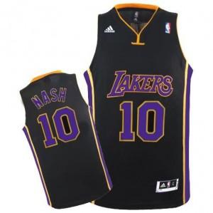 Canotte Rivoluzione 30 Nash,Los Angeles Lakers Nero