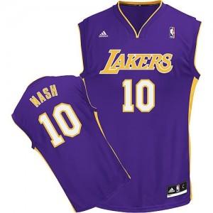 Canotte Rivoluzione 30 Nash,Los Angeles Lakers Porpora
