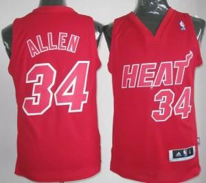 Canotte NBA Natale 2012 Allen Rosso