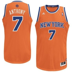 Canotte NBA Natale 2012 Anthony Arancione2