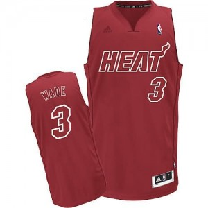Canotte NBA Natale 2012 Wade Rosso