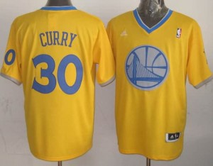 Canotte NBA Natale 2013 Curry Giallo