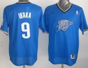 Canotte NBA Natale 2013 Ibaka Blu