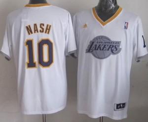 Canotte NBA Natale 2013 Nash Bianco
