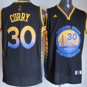 Canotte NBA Moda Curry Nero