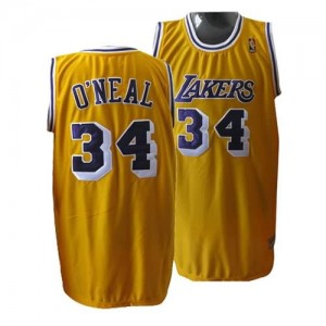 Canotte O neal,Los Angeles Lakers Giallo