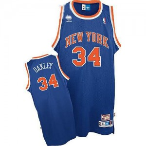Canotte Oakley,New York Knicks Blu