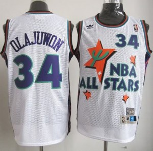 Canotte NBA Olajuwon,All Star 1995 Bianco