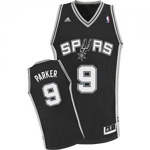 Canotte Parker,San Antonio Spurs Nero