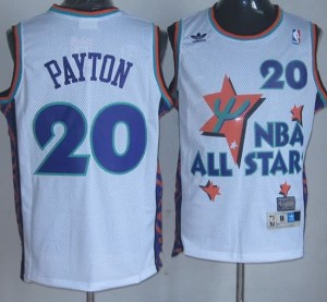 Canotte NBA Payton,All Star 1995 Bianco