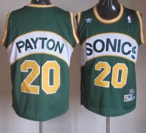 Canotte Payton,Seattle Sonics Verde