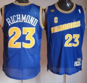Canotte Rivoluzione 30 Richmond,Golden State Warriors Blu