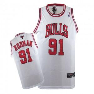 Canotte Rodman,Detroit Pistons Bianco