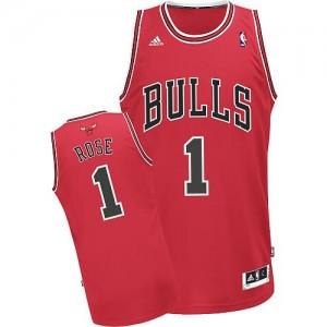 Canotte Rivoluzione 30 Rose,Chicago Bulls Rosso