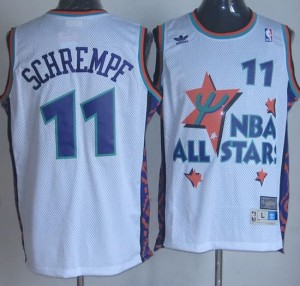 Canotte NBA Schrempf,All Star 1995 Bianco