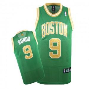 Canotte Rivoluzione 30 Rondo,Boston Celtics Verde