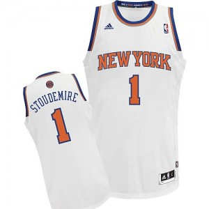 Canotte Rivoluzione 30 Stoudemire,New York Knicks Bianco