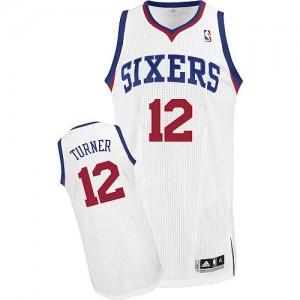 Canotte Turner,Philadelphia 76ers Bianco