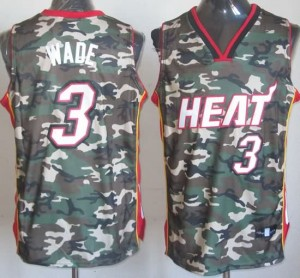 Canotte NBA Camouflage Wade Riv30