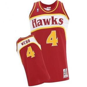 Canotte Webb,Atlanta Hawks Rosso