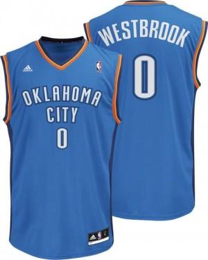 Canotte Rivoluzione 30 Westbrook,Oklahoma City Thunder Blu