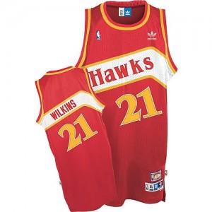 Canotte Wilkins,Atlanta Hawks Rosso