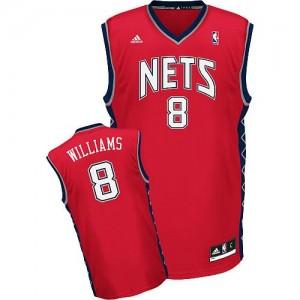 Canotte Rivoluzione 30 Williams,Brooklyn Nets Rosso