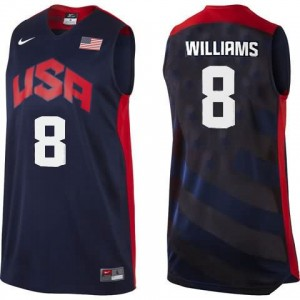 Canotte Williams,USA 2012 Nero