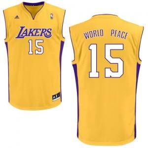 Canotte Rivoluzione 30 WorldPeace,Los Angeles Lakers Giallo