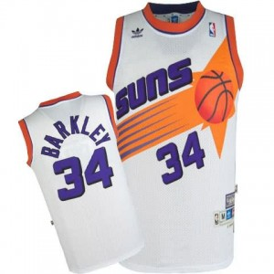Canotte Barkley,Phoenix Suns Bianco