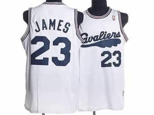 Canotte retro James,Cleveland Cavaliers Bianco