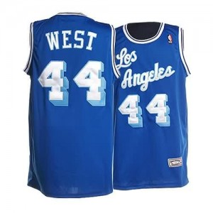 Canotte retro Jerry West,Los Angeles Lakers Blu