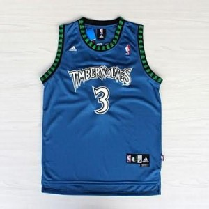 Canotte retro Marbury,Minnesota Timberwolves Blu