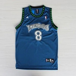 Canotte retro Mssury,Minnesota Timberwolves Blu
