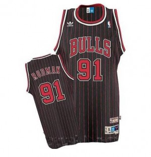 Canotte Rodman,Chicago Bulls Nero