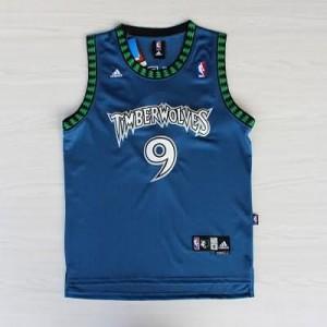 Canotte retro Rubio,Minnesota Timberwolves Blu