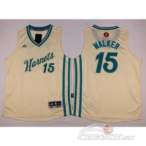 Canotte Bambini Walker,New Orleans Hornets Bianco