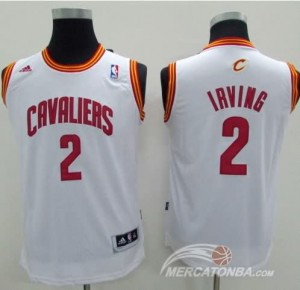 Canotte Bambini Irving,Cleveland Cavaliers Bianco