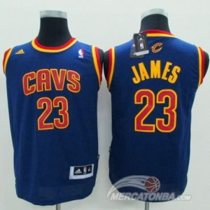 Canotte Bambini James,Cleveland Cavaliers Blu