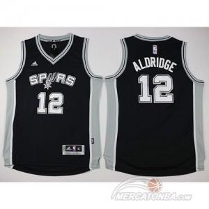 Canotte Bambini Aldridge,San Antonio Spurs Nero