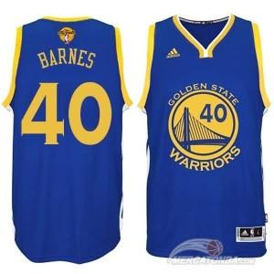 Canotte Rivoluzione 30 Barnes,Golden State Warriors Blu